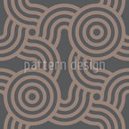 Roundabout Seamless Vector Pattern Design