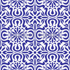 Azulejo Seamless Vector Pattern Design