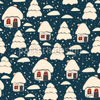 Trees Or Houses Pattern Design