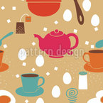 Breakfast Is Ready Seamless Vector Pattern Design