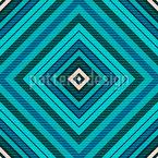 Hypnotisierende Kacheln Nahtloses Vektormuster