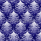 Cold Winter Wood Repeating Pattern