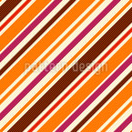Seventies Stripes Repeat Pattern