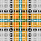 Graham Tartan Seamless Vector Pattern Design