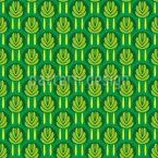 Sem ervas daninhas Design de padrão vetorial sem costura