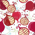 Juicy Pomegranates Vector Design