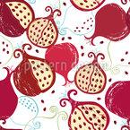 Saftige Granatäpfel Vektor Design
