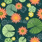Lily Pad Pond Pattern Design