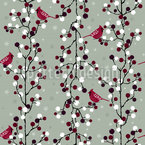 Elegant Winter Holiday Pattern Design
