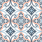 Elegant Tiles Vector Ornament