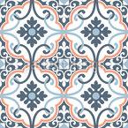 Azulejos elegantes Design de padrão vetorial sem costura