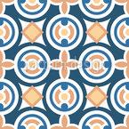 Tile Formas Design de padrão vetorial sem costura