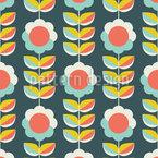 Scandinavian Plants Repeat Pattern