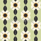 Minimalist Blossoms Pattern Design