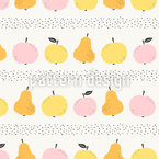 Autumn Sweets Repeating Pattern