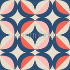 Retro Geometric Elements Pattern Design