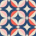 Retro Geometrische Elemente Muster Design