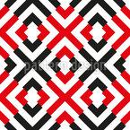Flirrende Symmetrie Musterdesign