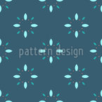 Flower Motifs Seamless Vector Pattern Design