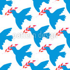 Dove Of Peace Repeat Pattern
