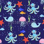 Kreaturen Des Meeres Designmuster