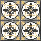 Circle Tile Vector Pattern