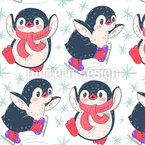 Penguin Ice Dance Repeat Pattern