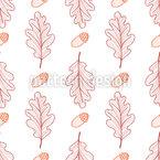 Eichenblätter Und Eicheln Vektor Design