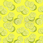 Lemon Sketch Repeat