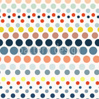 Punkte In Der Linie Musterdesign
