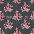 Mystery Plant Seamless Vector Pattern Design