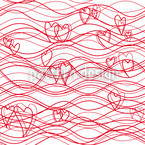 Wellenlängen Voraus Vektor Muster