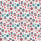 Christmas Stuff  Seamless Vector Pattern Design