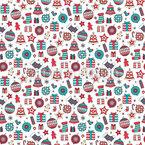 Weihnachtssachen Nahtloses Vektormuster