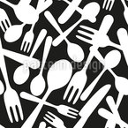 Cutlery Repeat Pattern