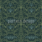 Damask Flourishes Pattern Design