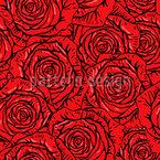 Roses Bouquet Vector Ornament