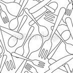 Inside The Kitchen Drawer Pattern Design