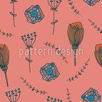 Doodle Blütenblätter Vektor Design