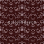 Linked Arabesque  Seamless Vector Pattern Design