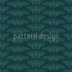 Flying Arabesques Seamless Pattern