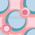 Retro Dot Chain Pattern Design