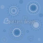 Just Love Seamless Vector Pattern Design
