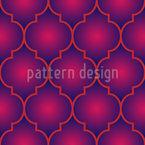 Glühender Marokkaner Vektor Muster