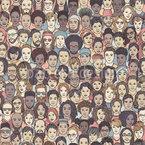 Vielfalt Nahtloses Vektormuster