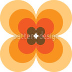 Iconic 60s Flower Repeating Pattern
