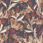 Cornflowers Dream Seamless Vector Pattern Design