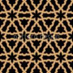 コネクテッドオリエンタルスター シームレスなベクトルパターン設計