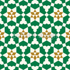 Historisches Mosaik Nahtloses Vektormuster