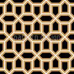 Celosía árabe Estampado Vectorial Sin Costura